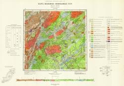 L-53-XXII. Карта полезных ископаемых СССР. Серия Сихотэ-Алинская
