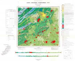 L-53-XXIII. Карта полезных ископаемых СССР. Серия Сихотэ-Алинская.