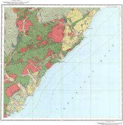 L-53-XXIV. Геологическая карта СССР. Серия Сихотэ-Алинская