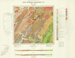 L-53-XXVII. Карта полезных ископаемых СССР. Серия Сихотэ-Алинская