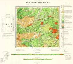 L-53-XXVIII. Карта полезных ископаемых СССР. Серия Сихотэ-Алинская