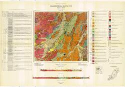 L-53-XXXII. Геологическая карта СССР. Серия Сихотэ-Алинская