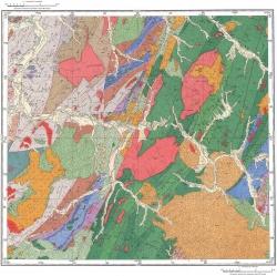 L-53-XXXIII. Геологическая карта СССР. Серия Сихотэ-Алинская