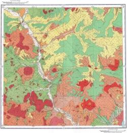 L-54-I. Геологическая карта СССР. Серия Сихотэ-Алинская