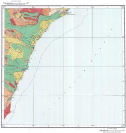 L-54-II. Карта полезных ископаемых СССР. Серия Сихотэ-Алинская