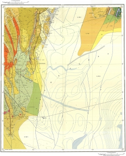 L-54-XVII,XXIII. Государственная геологическая карта Российской Федерации. Издание второе. Серия Сахалинская