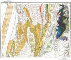 L-54-X,XI. Государственная геологическая карта Российской Федерации. Карта полезных ископаемых. Издание второе. Серия Сахалинская