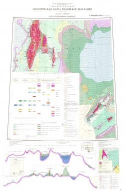 L-(54),(55); K-(55). Государственная геологическая карта СССР (Южно-Сахалинск). Карта четвертичных отложений