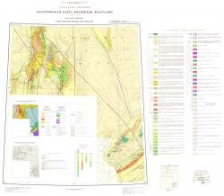 L-(54),(55); K-(55). Государственная геологическая карта СССР (Южно-Сахалинск). Карта дочетвертичных образований