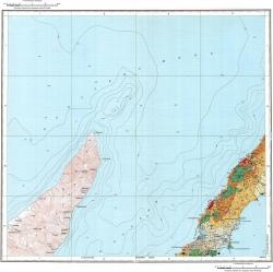 L-55-XXXII. Карта полезных ископаемых СССР. Серия Курильская