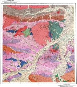 M-35-IV. Геологическая карта СССР. Хингано-Буреинская серия