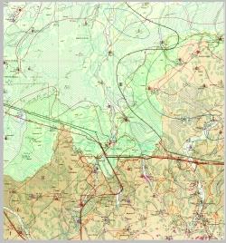 M-35-IV (Рубель). Гидрогеологическая карта СССР. Серия Центральноукраинская