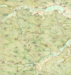 M-35-XII (Малин). Гидрогеологическая карта СССР. Серия Центральноукраинская.