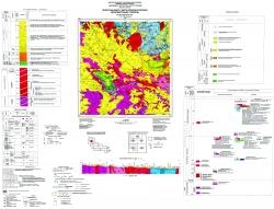 M-35-XVII (Житомир). Геологическая карта и карта полезных ископаемых дочетвертичных образований. Серия Центральноукраинская