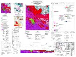 M-35-XVII (Житомир). Геологическая карта и карта полезных ископаемых кристаллического фундамента. Серия Центральноукраинская