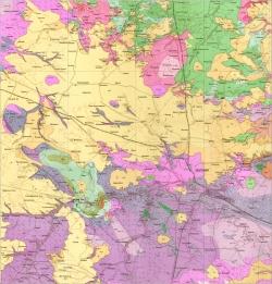 M-35-XVII (Житомир). Геологическая карта СССР. Серия Центральноукраинская