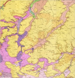 M-35-XVIII (Фастов). Геологическая карта СССР. Серия Центральноукраинская.