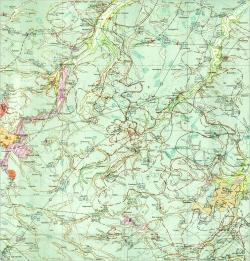 M-35-XVIII (Фастов). Гидрогеологическая карта СССР. Серия Центральноукраинская