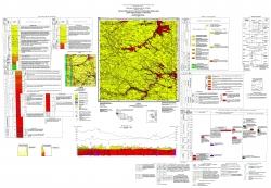 M-35-XXII (Староконстантиновка). Геологическая карта и карта полезных ископаемых дочетверичных отложений. Серия Центральноукраинская