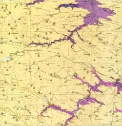 M-35-XXII (Староконстантиновка). Геологическая карта СССР. Серия Центральноукраинская. Карта полезных ископаемых