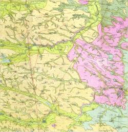 M-35-XXII (Староконстантиновка). Гидрогеологическая карта СССР. Серия Центральноукраинская