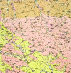 M-35-XXIII (Бердичевск). Гидрогеологическая карта СССР. Серия Центральноукраинская