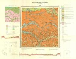 M-36-X (Ромны). Карта четвертичных отложений. Серия Днепровско-Донецкая