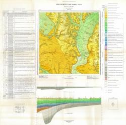 M-37-XX. Геологическая карта СССР. Серия Донбасская