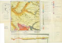 M-37-XXXI. Карта полезных ископаемых СССР. Серия Донбасская