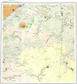M-38-VI. Карта четвертичных образований СССР. Серия Средневолжская