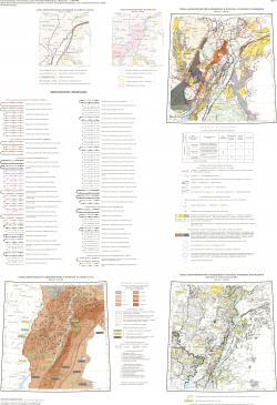 M-38 (Волгоград). Карта закономерностей размещения и прогноза полезных ископаемых (фосфорит, соли, бальнеологические грязи). Лист 2. Центрально-Европейская серия. Третье поколение.