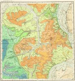 M-38-X. Карта полезных ископаемых СССР. Серия Нижневолжская