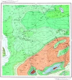 M-38-XI. Геологическая карта СССР. Серия Нижневолжская