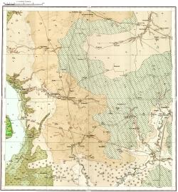 M-38-XI. Карта четвертичных образований СССР. Серия Нижневолжская