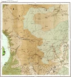M-38-XI. Карта полезных ископаемых СССР. Серия Нижневолжская