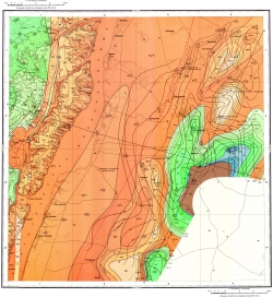 M-38-XXII. Геологическая карта СССР. Серия Нижневолжская