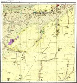 M-39-I. Карта полезных ископаемых СССР. Серия Средневолжская