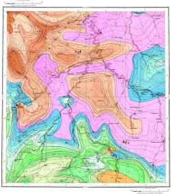M-39-II. Геологическая карта СССР. Серия Средневолжская