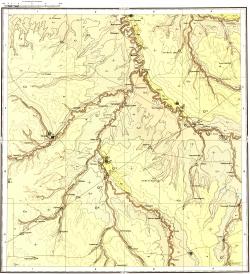 M-39-II. Карта полезных ископаемых СССР. Серия Средневолжская