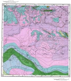 M-39-VI. Геологическая карта СССР. Серия Прикаспийская