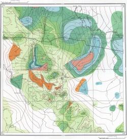 M-39-XII. Геологическая карта СССР. Серия Прикаспийская
