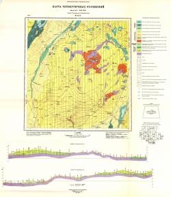 M-44-IX. Карта четвертичных отложений. Серия Кулундинско-Барабинская