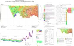 M-44 (Рубцовск). Государственная геологическая карта РФ. Третье поколение. Карта плиоцен-четвертичных образований. Алтае-Саянская серия