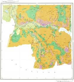 M-44-X. Геологическая карта Российской Федерации. Второе издание. Карта четвертичных отложений. Алтайская серия