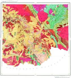 M-44-XI. Геологическая карта Российской Федерации. Второе издание. Алтайская серия