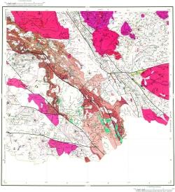 M-44-XI. Геологическая карта Российской Федерации. Второе издание. Карта полезных ископаемых. Алтайская серия