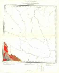 M-45-А (Горно-Алтайск). Геологическая карта Казахской ССР