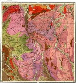 M-45-II. Карта полезных ископаемых СССР. Алтайская серия