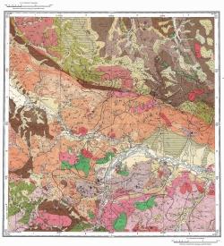 M-45-XIV. Карта полезных ископаемых СССР. Серия Горно-Алтайская