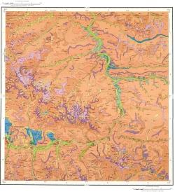 M-45-XV. Геологическая карта Российской Федерации. Второе издание. Карта четвертичных образований